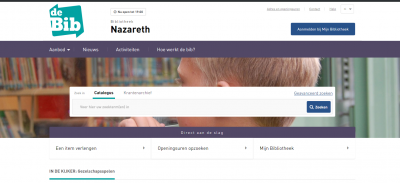 Ontdek de nieuwe bibwebsite